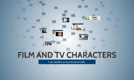 FILM AND TV CHARACTERS