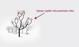 Copy of Enfoque cognitivo del pensamiento critico