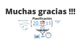 Planificación 2013