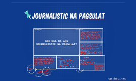 Copy of JOURNALISTIC
