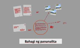 Copy of Bahagi ng pananalita
