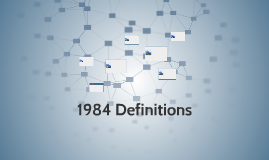 1984 Definitions