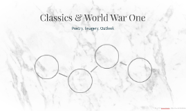 Classics & World War One