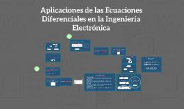 Aplicaciones de las Ecuaciones Diferenciales en la Ingenierí