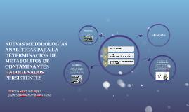 NUEVASMETODOLOGIAS ANALITICAS PARA LA DETERMINACION DE META