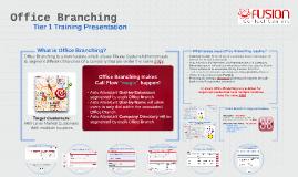 Office Branching
