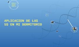 Copy of APLICACION DE LAS 5 S EN MI DORMITORIO