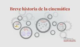 Breve historia de la cinemática