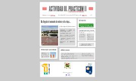 ACTIVIDAD III. PRACTICUM II. Mario Cerezo Pizarro