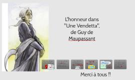 Une Vendetta