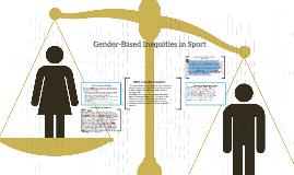 Gender-Based Inequities in Sport