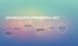 GRADUACIÓN PRIMAVERA 2017
