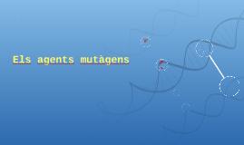 Copy of Els agents mutàgens