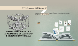 NOM- 001- STPS-2008