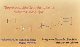 """Representación Geométrica de los Números Complejos"""""""