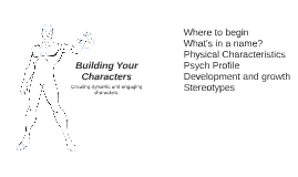 Building Your Characters