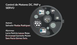 Control de Motores DC, PAP y SERVO