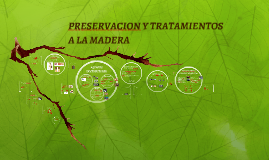 PRESERVACION Y TRATAMIENTOS A LA MADERA