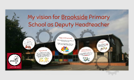 My vision for Brookside Primary School as Deputy Headteacher