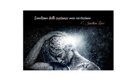 Dualismo delle sostanze non cartesiano