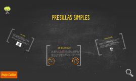 PRESILLAS SIMPLES