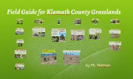 Field Guide for Klamath County Grasslands