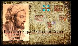 Ibnu Sina:Bapa Perubatan Dunia