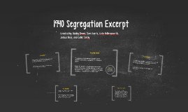Copy of 1940 Segregation Excerpt