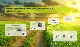 Copy of Copy of KARAPATAN PANGKABUHAYAN,PANLIPUNAN AT PANGKULTURA