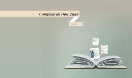 Complejo de Don Juan