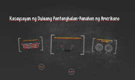 Copy of Kasaysayan ng Dulaang Pantanghalan-Panahon ng Amerikano