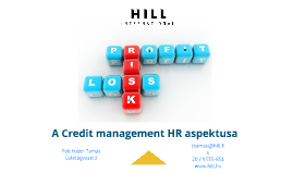 A Credit management humán aspektusa
