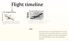 Flight timeline