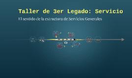 Copy of Taller de 3er Legado: Servicio