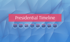 Copy of Presidential Timeline