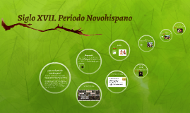 Copy of Siglo XVII. Periodo Novohispano