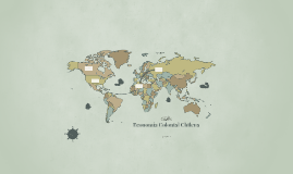 Economía Colonial Chilena