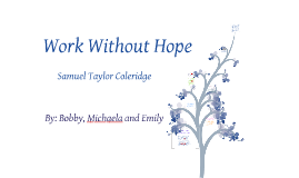Copy of Work Without Hope
