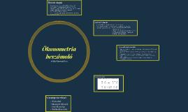 Ökonometria alapjai beszámoló