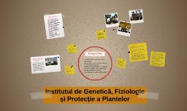 Institutul de Genetică și Fiziologie a Plantelor