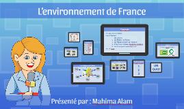 L'environnement de France