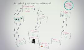 Life and Leadership are like the Marathon