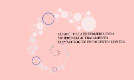 EL PAPEL DE LA ENFERMERÍA EN LA ADHERENCIA AL TRATAMIENTO FA