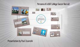 Persona of a College Soccer Recruit
