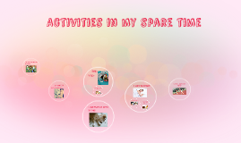 Copy of Activities in my spare time