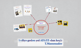 Advisory Board AEGEE-Baki 2013