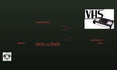 VHS vs DVD