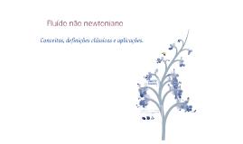 Fluído não newtoniano
