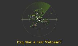 Irak war: a new Vietnam?