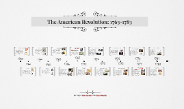 The Path to Revolution: 1763-1776